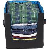 PrettyKrafts Shirt Stacker - Closet Organizer - Shirts and Clothing Organizer - Exile_Blue