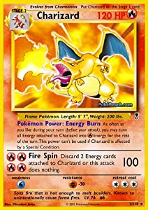 Amazon Com Pokemon Charizard 3 Legendary Collection