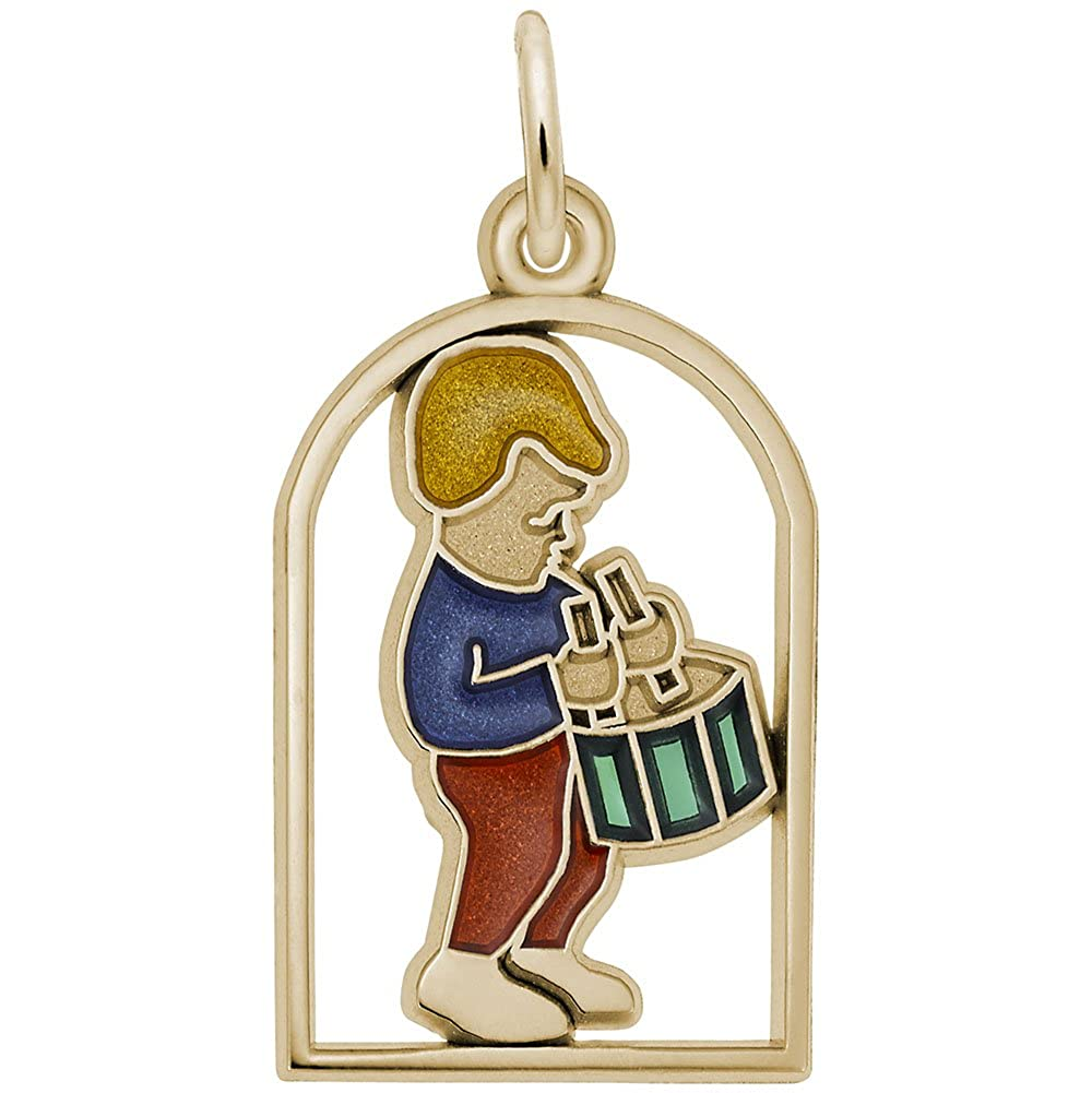 Drummers Drumming Charm Charms for Bracelets and Necklaces