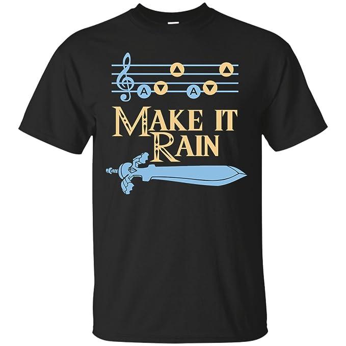 e053a251e Make It Rain (Song of Storms) T-Shirt | Amazon.com