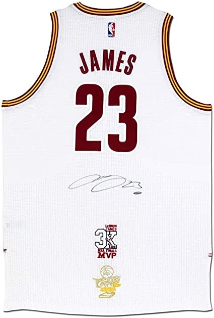 LeBron James Autographed Cleveland Cavaliers Authentic Adidas ...
