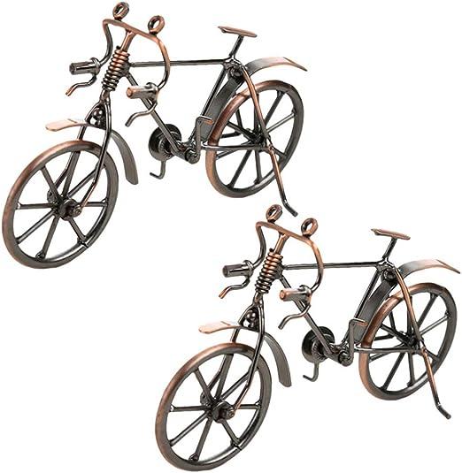 SUPVOX 2 Piezas de Bicicleta de Hierro Modelos Hechos a Mano ...