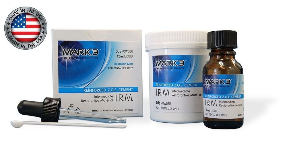 WDS Mark 3 Intermediate Restorative Material (IRM) 50g Powder & 15mL Liquid