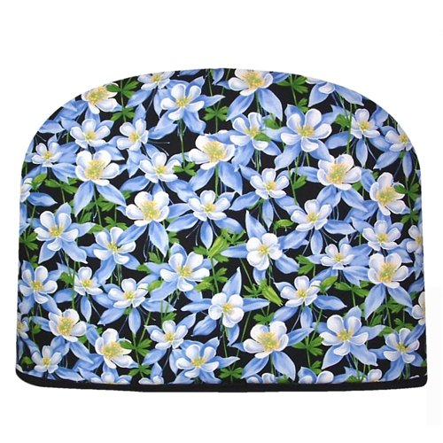 Blue Moon Teapot Tea Cozy Wildflowers Tea Cozy Double Insulated Tea Cozy
