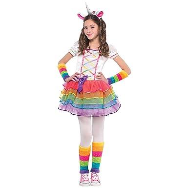6310fc15fc0c Amazon.com  Rainbow Unicorn Child Costume - Toddler  Clothing