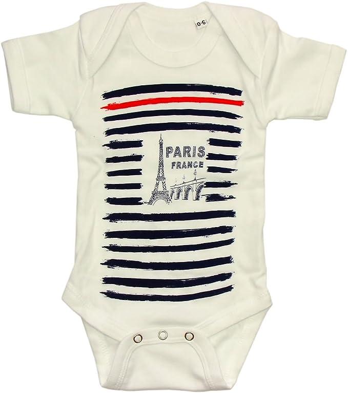 Blanc Body B/éb/é Gar/çon Paris Souvenirs de France