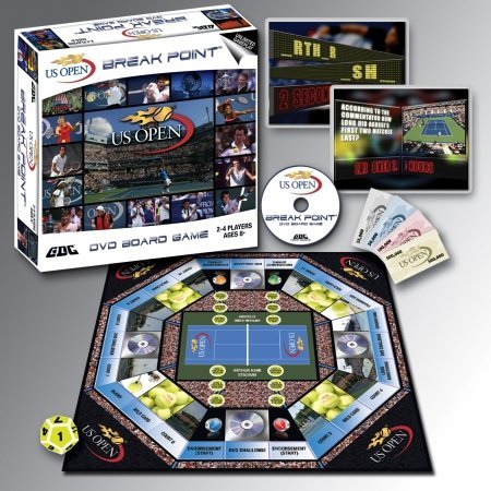 GDC-Gamedevco 30006 US Open DVD Board Game