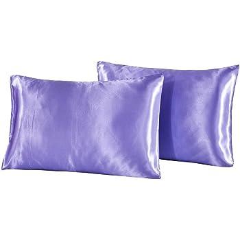 Amazon.com: DreamX Luxury Silk Satin Pillowcase for Hair