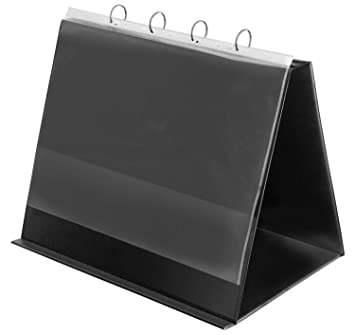 Veloflex 4132280 - Archivador (con función atril, para formato A3, horizontal), color negro: Amazon.es: Oficina y papelería