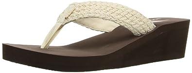 Rocket Dog Women's Aviara Cedros Cotton Platform Sandal, Natural, ...