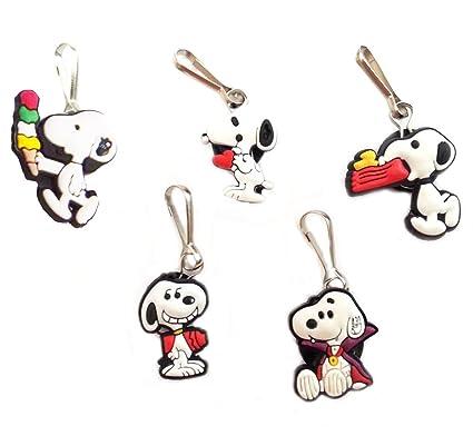 5 piezas de ropa #2 Adorable Snoopy y decoración llavero ...