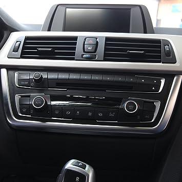 Center Central Panel Frame Trim Car Interior Accessory For 3 Series