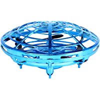 Flying Ball Drone, Hand Operated Drone Toys for Kids, Controlled Suspension Helicopter Toy, Infrared Induction Interactive Drone Indoor Flyer Gift