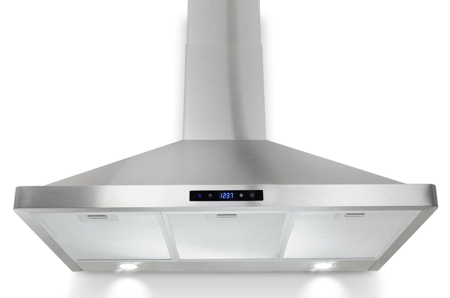"""AKDY 36"""" Wall Mount Stainless Steel Touch Control Panel Cooking Fan Kitchen Vent Range Hood"""