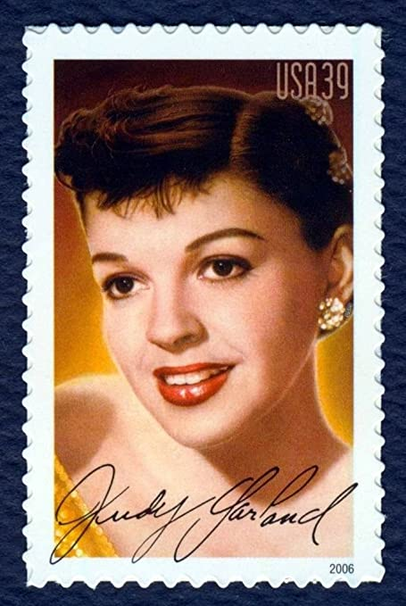 2006 39 Cent Judy Garland Legends Of Hollywood Stamp Scott 4077 By USPS