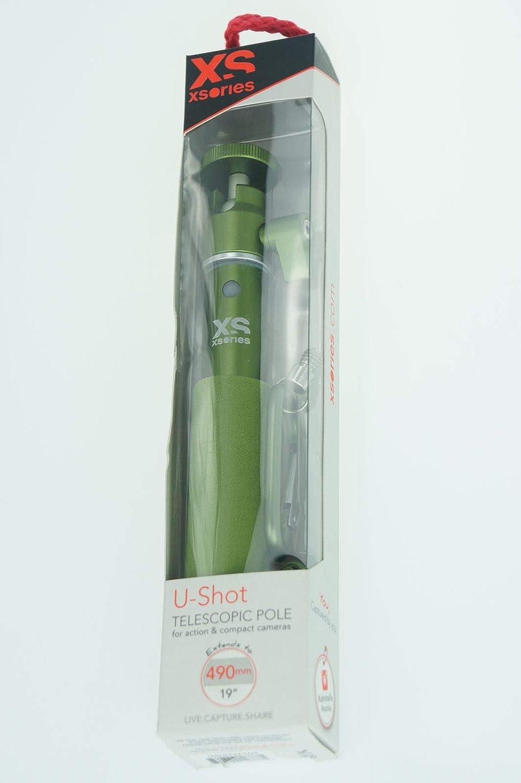Vert Xsories Perche Selfie Stick extensible Monopod t/él/éscopique BIG U-SHOT