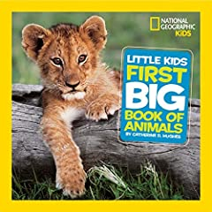 The National Geographic Little Kids First Big Book of Animals is an adorable animal reference sure to be welcomed by parents and librarians alike. Filled with fluffy and scaly creatures big and small, this appealing book introduces the younge...
