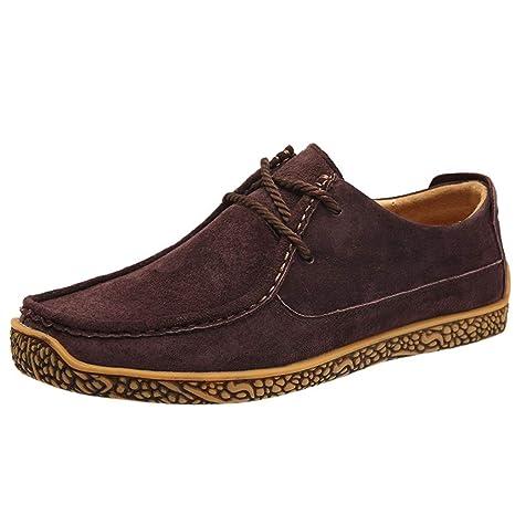 ZHANSANFM Schuhe Herren Loafers Leder Mokassins Bootsschuhe