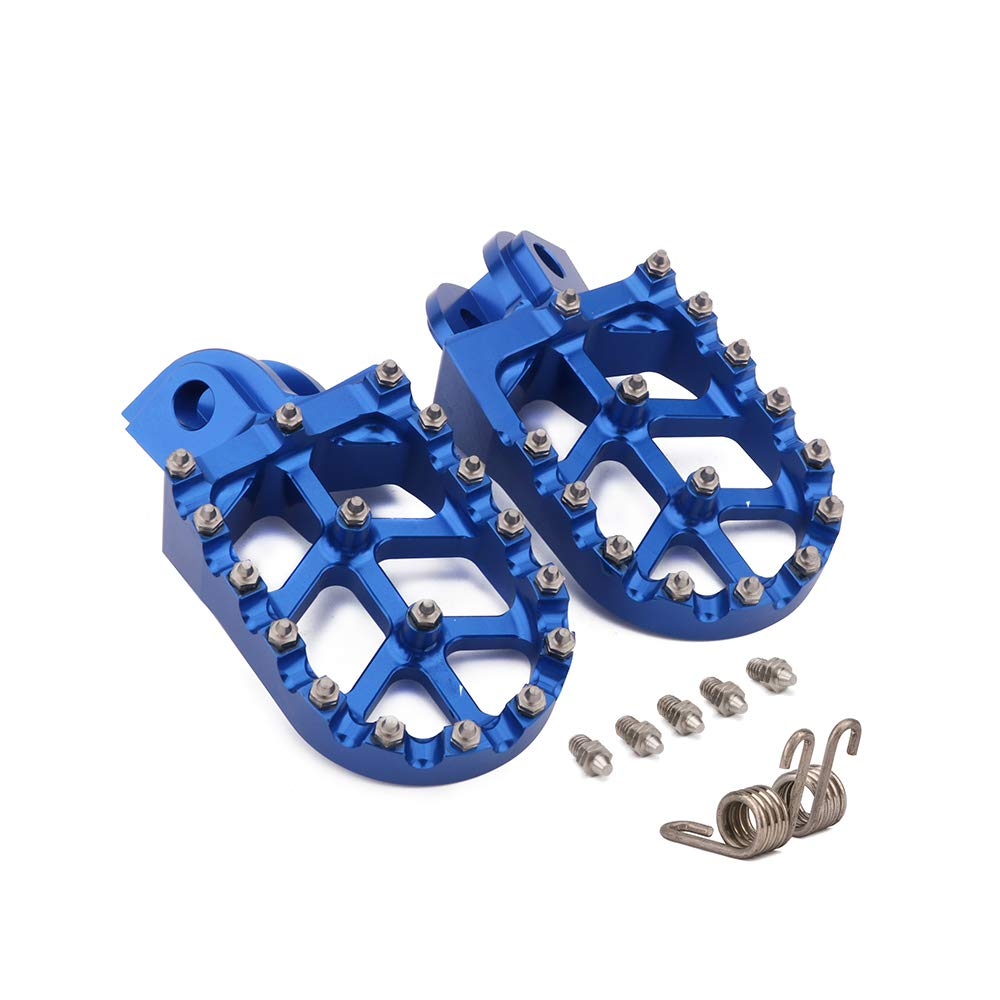 Footpegs Footrest Foot Pegs Foot Pedal CNC Motorcycle Fit For KTM 65SX 85SX 125SX  250SX 125-530EXC/EXC-F  150-300XC/250XC-F  350-450XC-F  200-530XC-W/XCF-W  FREERIDE 250R/350 950SUPER ENDURO 990ADVENTURE Fast pro