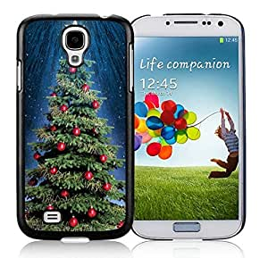 2014 Latest Samsung S4 TPU Protective Skin Cover Christmas Tree Black Samsung Galaxy S4 i9500 Case 19