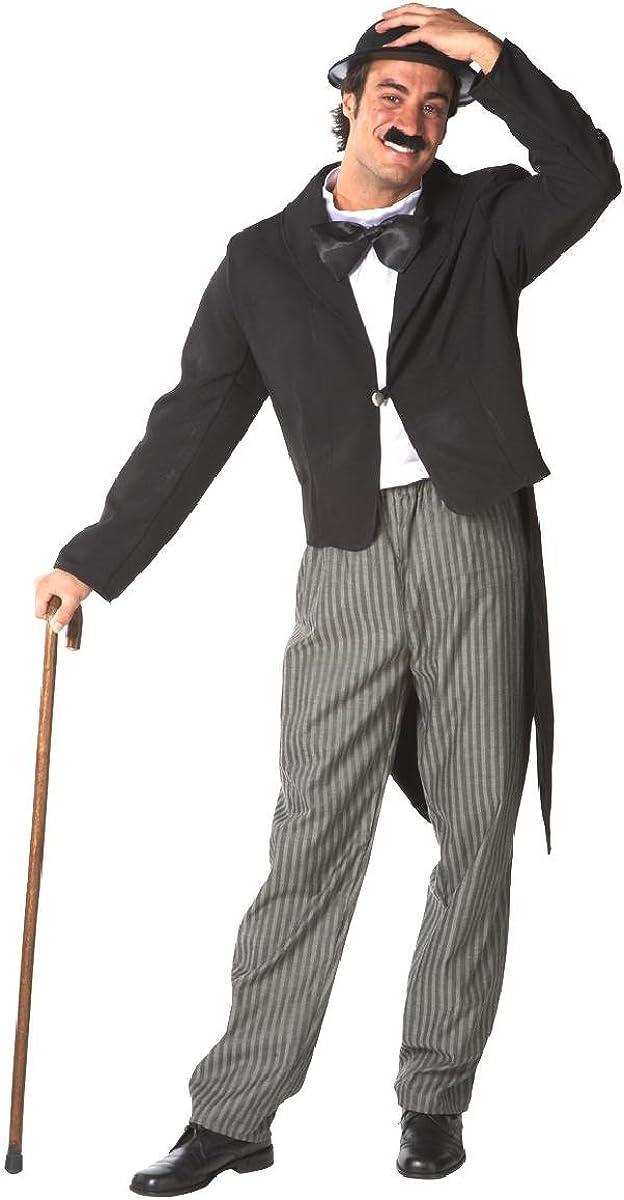 Disfraz de Charlot para hombre: Amazon.es: Ropa y accesorios