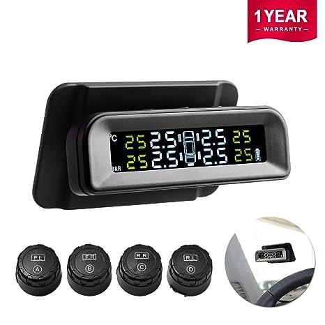 Amazon.com: Favoto TPMS - Sistema de control de presión de ...