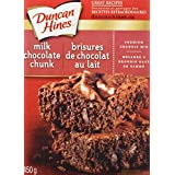 Duncan Hines Brownie Mix, Milk Chocolate Chunk, 450g