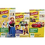 Glad Food Storage Bags Variety Pack, Disney, 120 - Best Reviews Guide