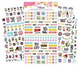 bloom daily planners New Classic Planner Sticker Sheets - Variety Sticker Pack - 390 Stickers Per Pack!
