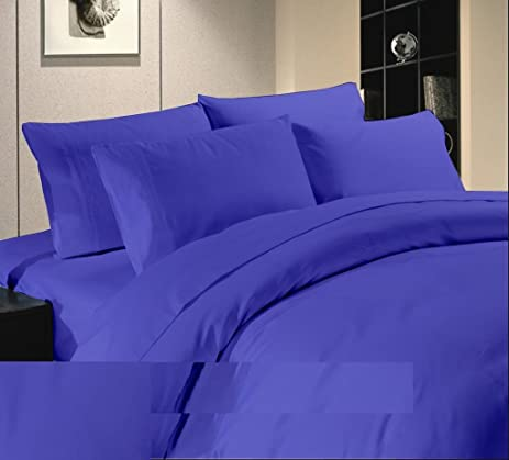 US Comfort Zone Offer Sale Bed Sheets 400 TC 100 % Egyptian Cotton Queen 4