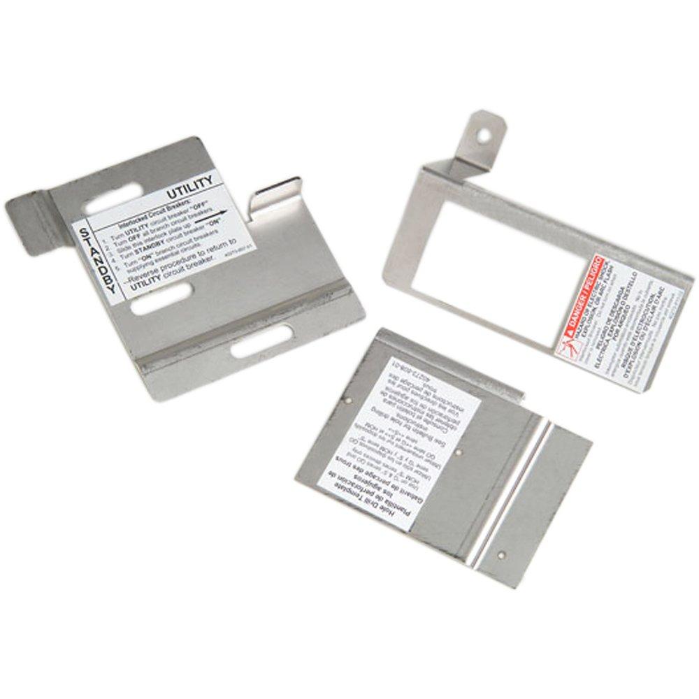 Square D by Schneider Electric QORBGK2C QO Outdoor Cover Generator and QOM2 Frame Size Main Breaker Interlock Kit