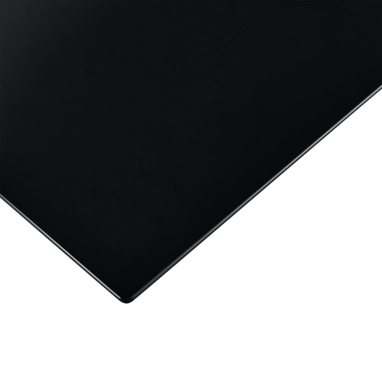 Neu.Haus Tablero de Vidrio para Mesa de Centro para Mesa de Comedor Placa Inferior para Chimenea Vidrio Templado 1200 x 650 mm