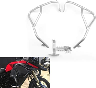 Areyourshop Crash Bars Engine Protection Upper For BMW F800GS Adventure 2014-2016 Silver