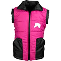 MS-Trachten Chaleco de equitación infantil Mia, color rosa