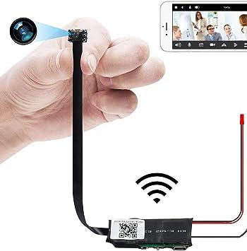 Cámara Oculta, UYIKOO WiFi Cámara HD 1080P Mini Cámara Espía ...