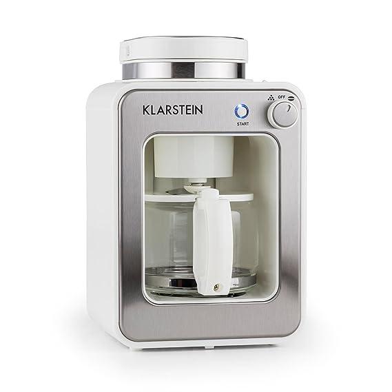 Klarstein 10028608 - Cafetera (Cafetera de filtro, Granos de café ...