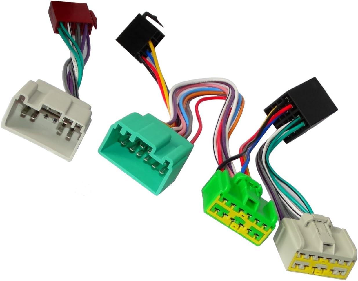 AERZETIX Cable adaptador autoradio para PARROT KML Kit Manos libre de coche vehiculos C12175