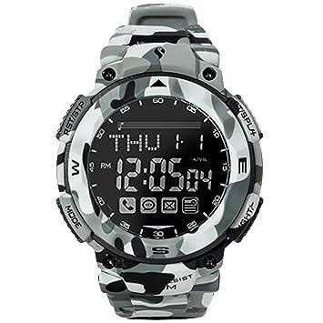 Baoblaze Reloj Digital Fitness Tracker Rastreador de Deporte Impermeable Durable - Camuflaje azul marino: Amazon.es: Juguetes y juegos