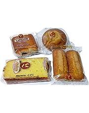 LAPASION - Sobaos, Magdalena larga, Bizcocho Coc y Magdalena redonda ideal para desayunos