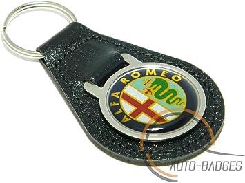 Portachiavi Alfa Romeo per auto in metallo di alta qualit/à;
