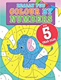 Really Fun Colour By Numbers For 5 Year Olds: A fun & educational colour-by-numbers activity book for five year old children