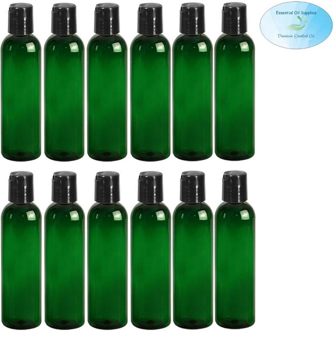 Amazon.com: Botellas redondas de plástico vacías recargables ...
