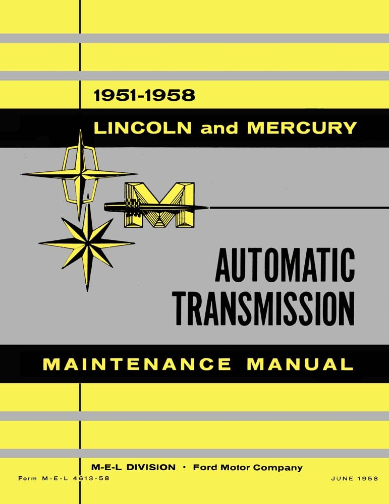 Incredible Amazon Com Bishko Automotive Literature 1951 1958 Lincoln Mercury Wiring Digital Resources Funapmognl