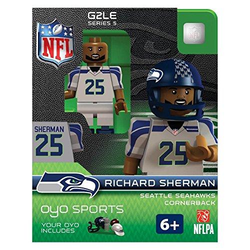 NFL Seattle Seahawks Richard Sherman Gen 2 Mini Figure, Petit