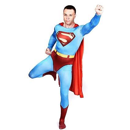 shoperama Hombre Traje De Cuerpo Entero Superman # 1 Disfraz ...