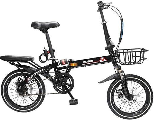 Bicicleta Plegable Plegable Para Hombres Y Mujeres: Bicicleta De ...