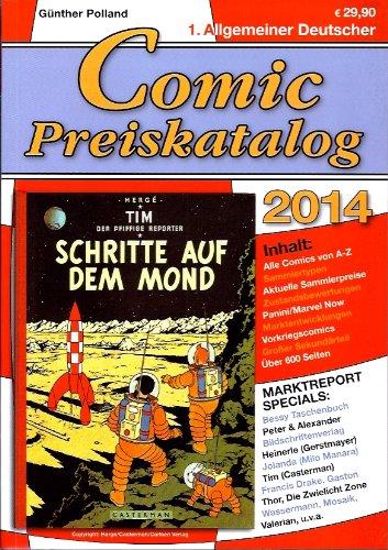1. Allgemeiner Deutscher Comic-Preiskatalog 2014