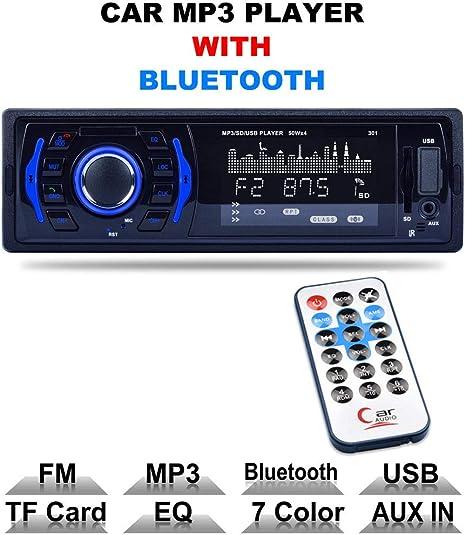 Estéreo de Coche con Bluetooth Manos Libres i Smartphone función ...