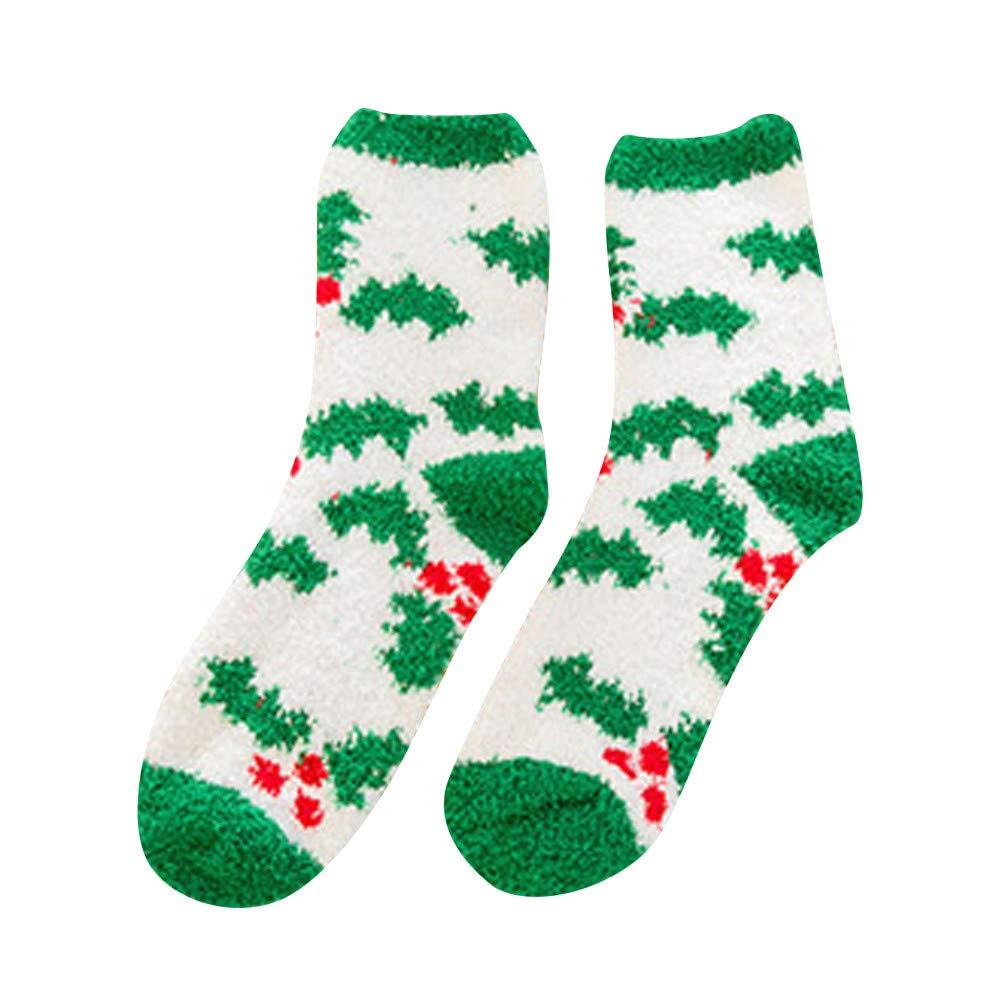 iTLOTL Cute Casual Business Socks Christmas Printing Printing Medium Sports Socks