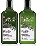 Avalon Organics Lavender Nourishing Shampoo & Conditioner Duo, 11 oz